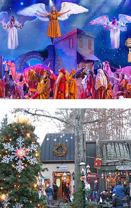 Christmas In The Smokies.Pigeon Forge Holiday Afc Vacations Escorted Vacations