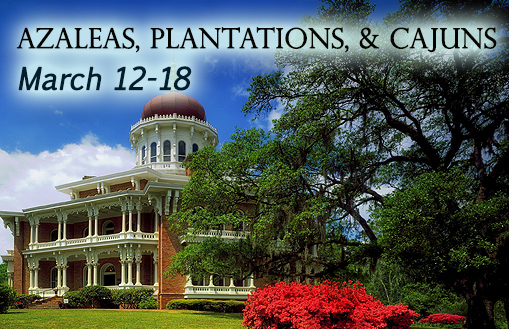 Azaleas Plantations and Cajuns